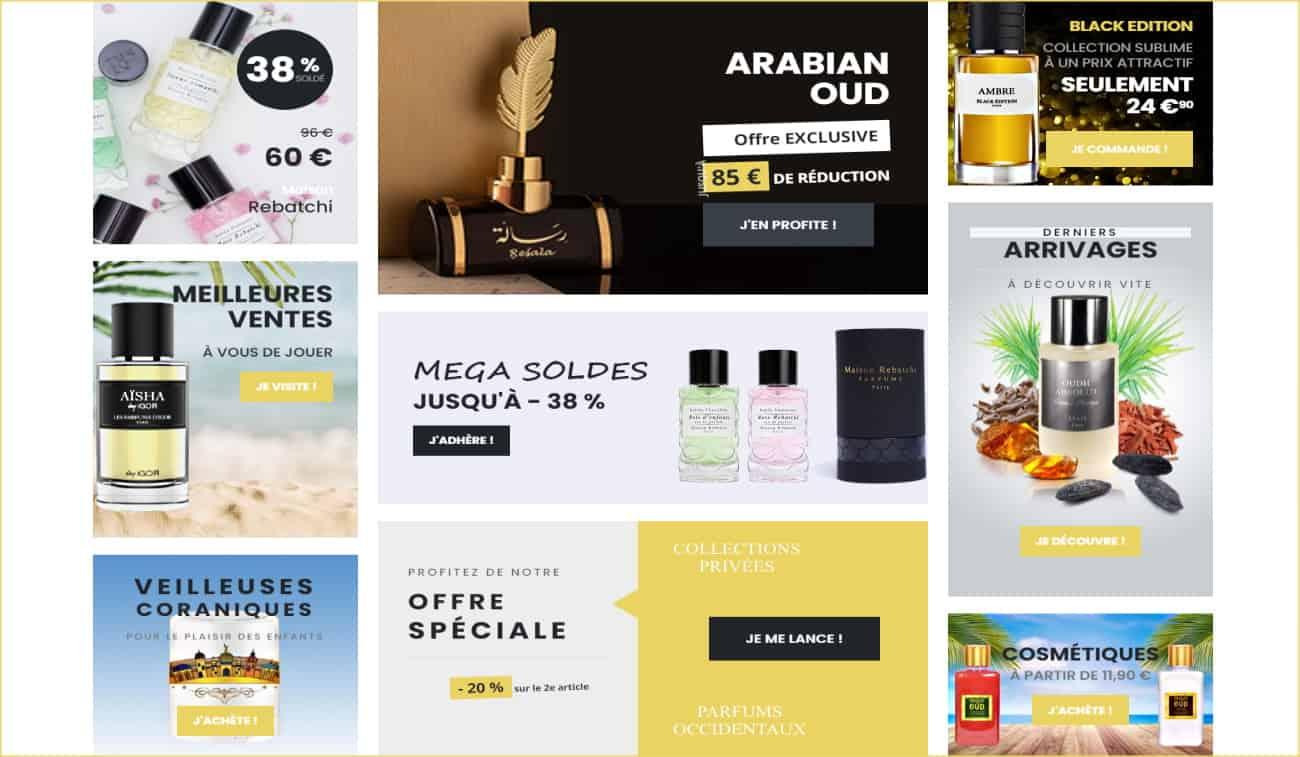 portefeuille 3 site web e-commerce dubai cosmetix - com4muz